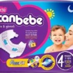 New Canbebe Baby Diaper Jumbo Package 4 Maxi size 7-14 kg 40-pieces