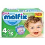 Molfix Baby Diaper Jumbo package 4 size maxi 7-14-kg 40 pieces-ZZ-Exporter