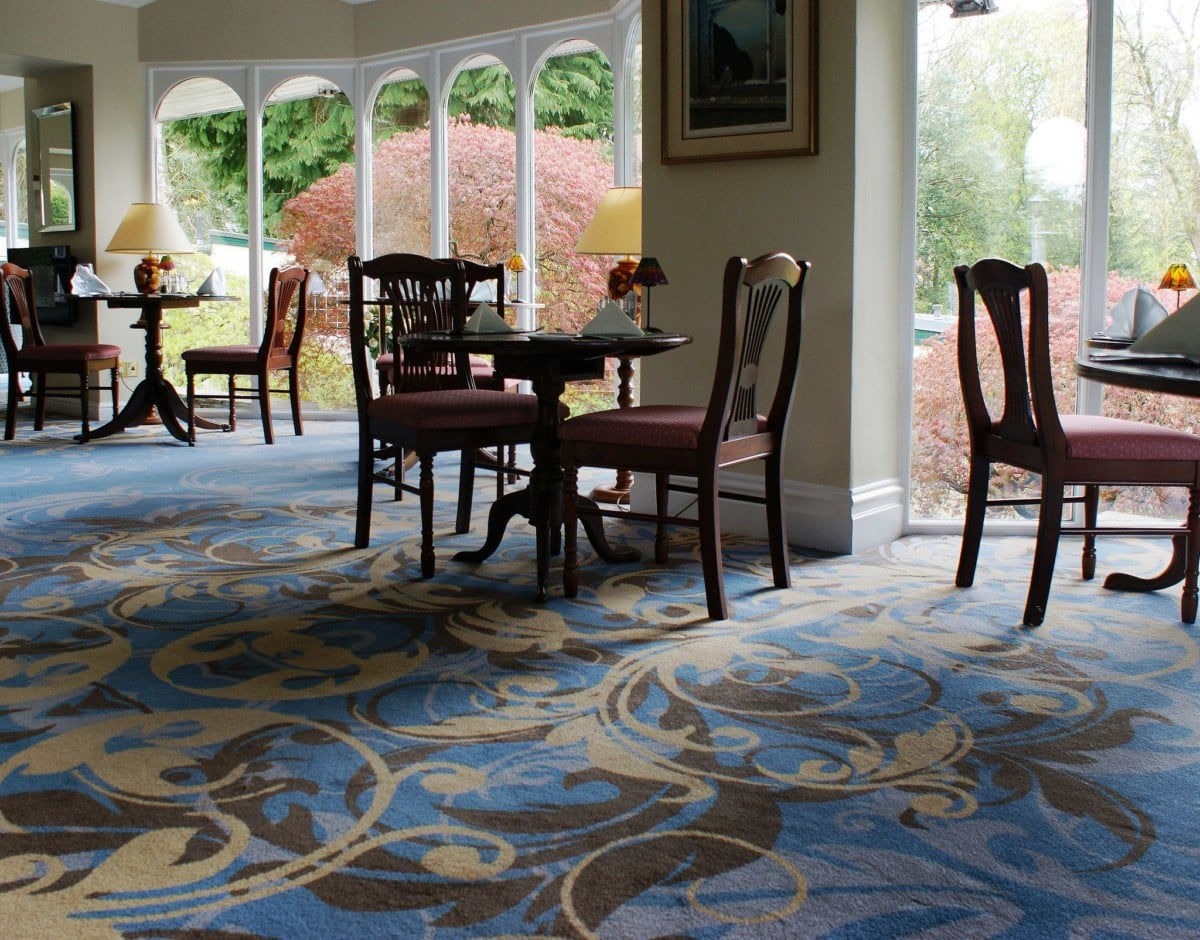 Axminster Carpet in Luxury Hotel