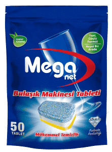 Meganet Dishwasher Tablet Package close view