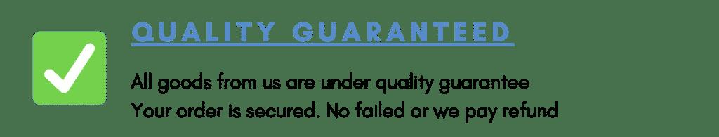 ZZ Exporter Guarantee Quality Control