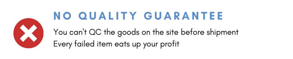 Small Businesses have no Quality Control
