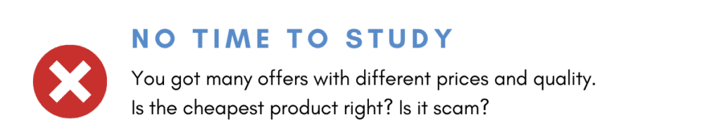 Small Businesses Don't Know Product Details