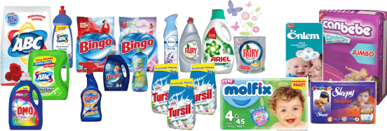 Turkish FMCG Brands ready for Export. Include A-brands P&G, Henkel