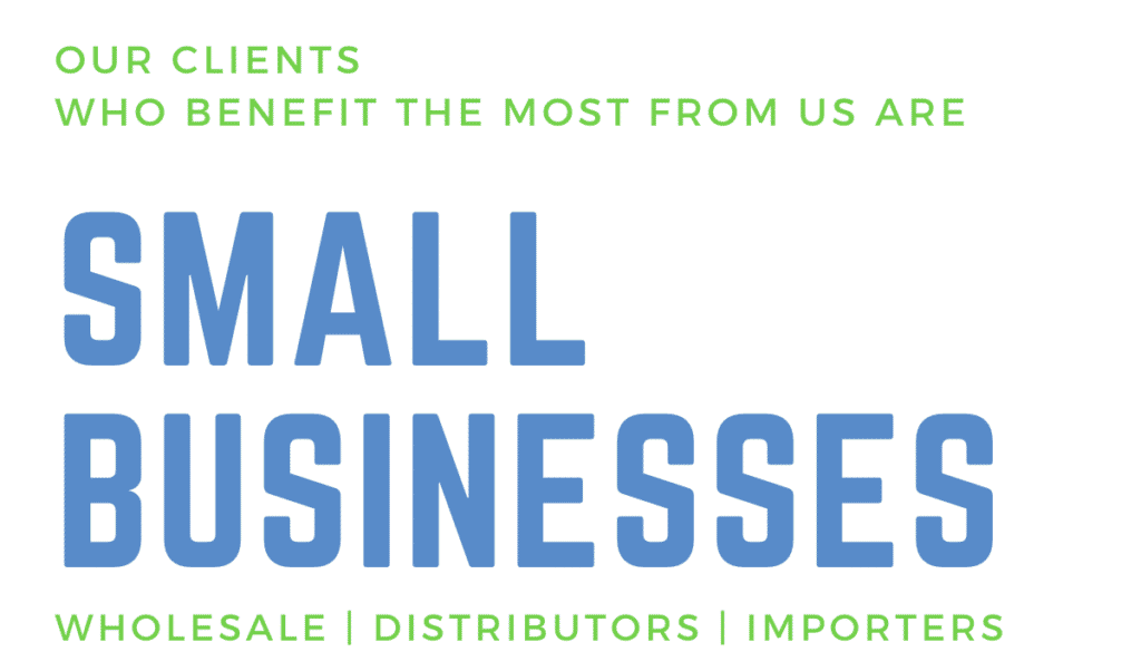 Our Clients are Small Businesses