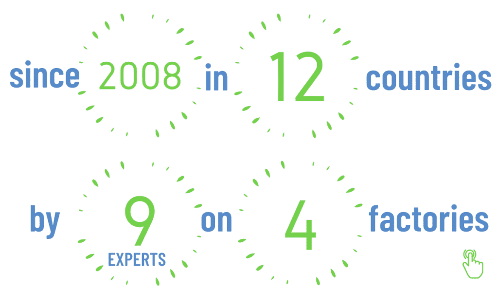 ZZ Exporter in numbers. We operate since 2008 in 12 countries. Export run by 9 experts. We use 4 factories to produce our products and Pirvate labels.